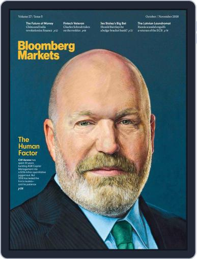 Bloomberg Markets October 1st, 2018 Digital Back Issue Cover