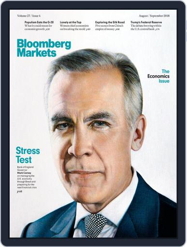 Bloomberg Markets August 1st, 2018 Digital Back Issue Cover