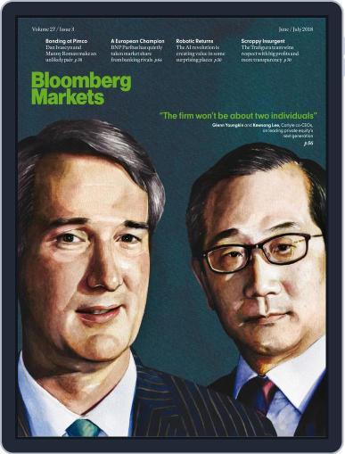 Bloomberg Markets June 1st, 2018 Digital Back Issue Cover