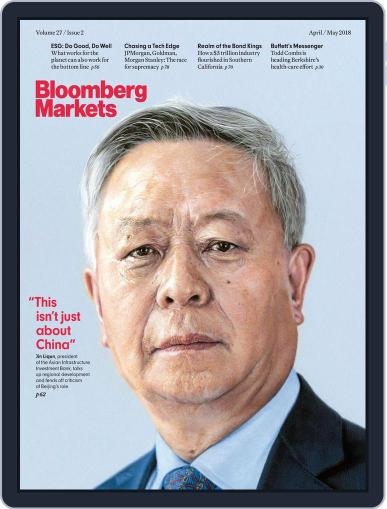 Bloomberg Markets April 1st, 2018 Digital Back Issue Cover