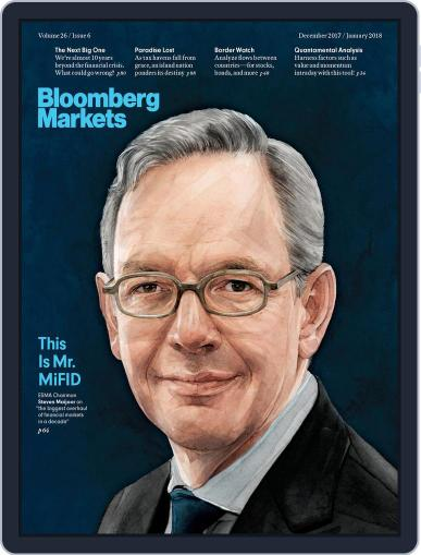 Bloomberg Markets (Digital) December 1st, 2017 Issue Cover