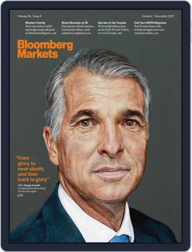 Bloomberg Markets October 1st, 2017 Digital Back Issue Cover
