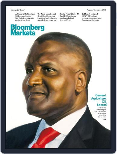 Bloomberg Markets August 1st, 2017 Digital Back Issue Cover