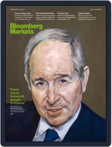 Bloomberg Markets June 1st, 2017 Digital Back Issue Cover