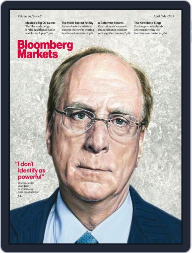 Bloomberg Markets April 1st, 2017 Digital Back Issue Cover