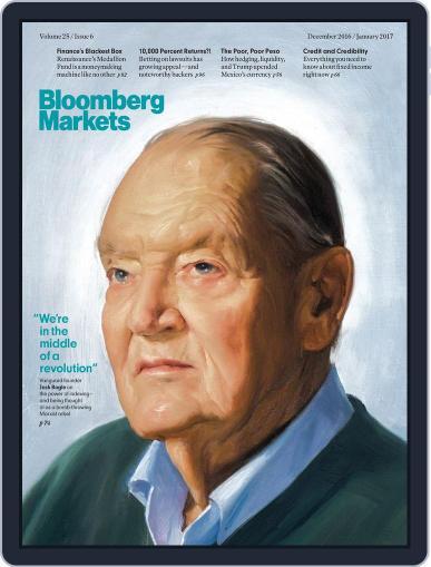 Bloomberg Markets December 1st, 2016 Digital Back Issue Cover