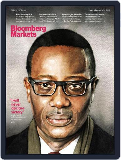 Bloomberg Markets September 1st, 2016 Digital Back Issue Cover