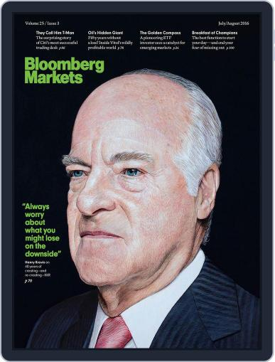 Bloomberg Markets July 1st, 2016 Digital Back Issue Cover
