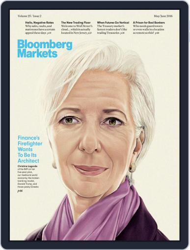 Bloomberg Markets May 1st, 2016 Digital Back Issue Cover