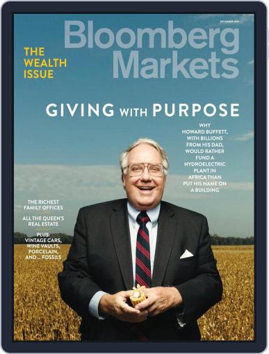 Bloomberg Markets November 29th, 2015 Digital Back Issue Cover