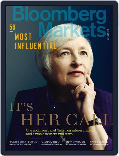 Bloomberg Markets October 1st, 2015 Digital Back Issue Cover