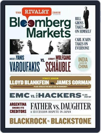 Bloomberg Markets (Digital) June 26th, 2015 Issue Cover