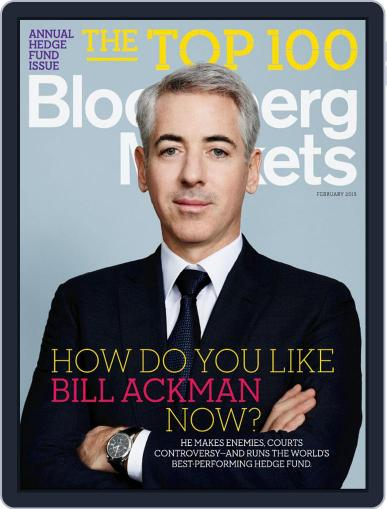Bloomberg Markets February 1st, 2015 Digital Back Issue Cover