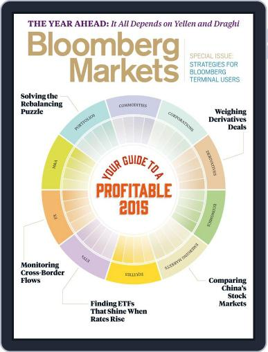Bloomberg Markets January 1st, 2015 Digital Back Issue Cover
