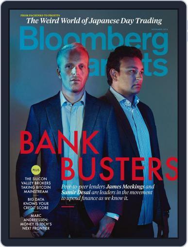 Bloomberg Markets November 1st, 2014 Digital Back Issue Cover