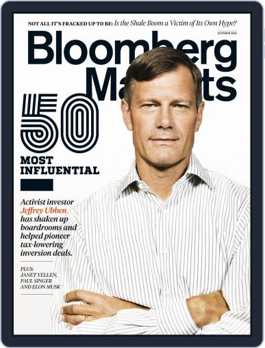 Bloomberg Markets (Digital) October 1st, 2014 Issue Cover