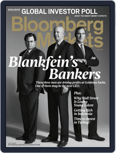 Bloomberg Markets May 20th, 2014 Digital Back Issue Cover