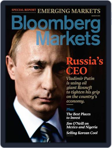 Bloomberg Markets February 11th, 2014 Digital Back Issue Cover