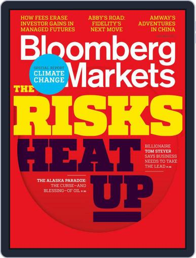 Bloomberg Markets October 4th, 2013 Digital Back Issue Cover