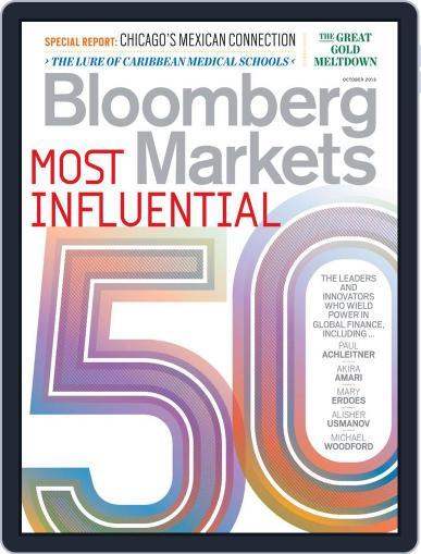 Bloomberg Markets September 6th, 2013 Digital Back Issue Cover