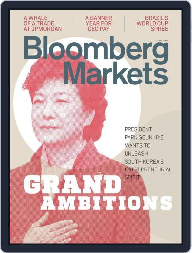 Bloomberg Markets June 7th, 2013 Digital Back Issue Cover