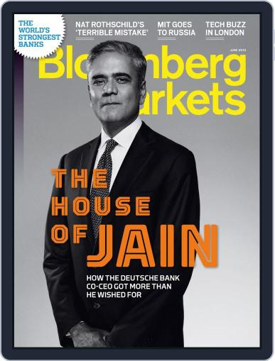 Bloomberg Markets May 10th, 2013 Digital Back Issue Cover