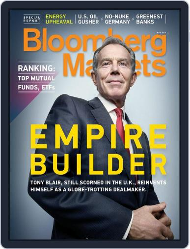 Bloomberg Markets April 5th, 2013 Digital Back Issue Cover