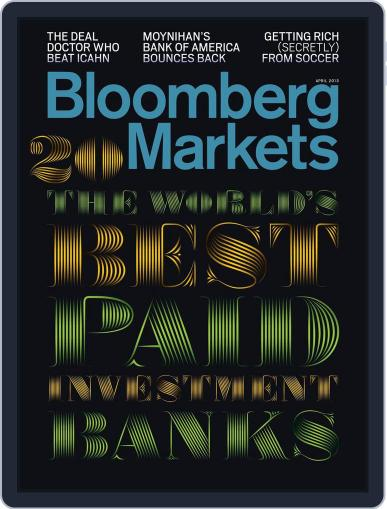 Bloomberg Markets March 12th, 2013 Digital Back Issue Cover