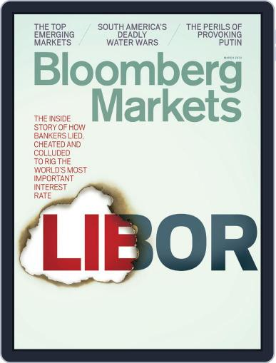 Bloomberg Markets February 12th, 2013 Digital Back Issue Cover