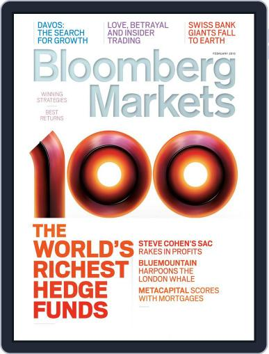 Bloomberg Markets January 10th, 2013 Digital Back Issue Cover
