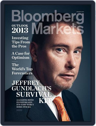 Bloomberg Markets December 6th, 2012 Digital Back Issue Cover