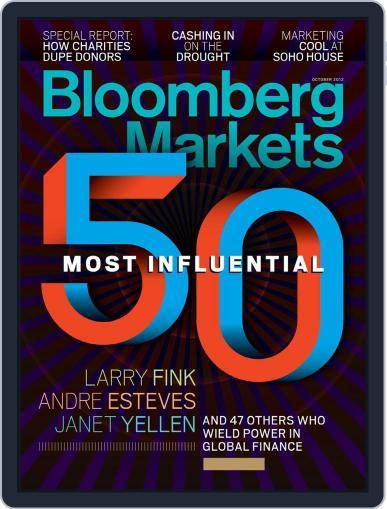 Bloomberg Markets September 7th, 2012 Digital Back Issue Cover