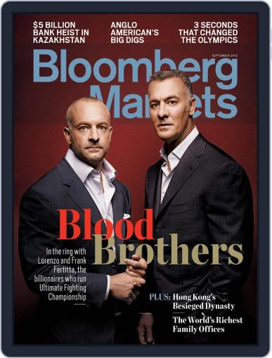 Bloomberg Markets August 9th, 2012 Digital Back Issue Cover