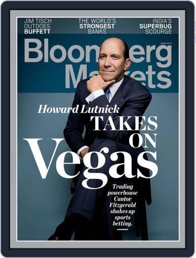 Bloomberg Markets May 10th, 2012 Digital Back Issue Cover