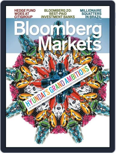 Bloomberg Markets March 8th, 2012 Digital Back Issue Cover