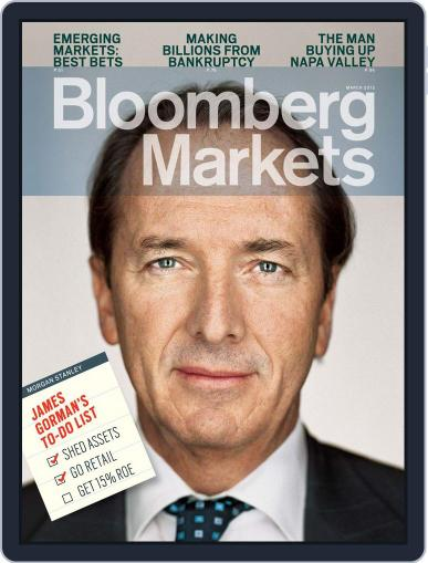 Bloomberg Markets February 9th, 2012 Digital Back Issue Cover