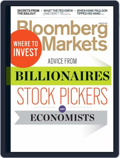Bloomberg Markets December 1st, 2011 Digital Back Issue Cover