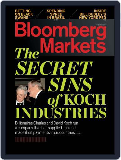 Bloomberg Markets (Digital) September 30th, 2011 Issue Cover