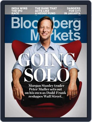 Bloomberg Markets June 30th, 2011 Digital Back Issue Cover