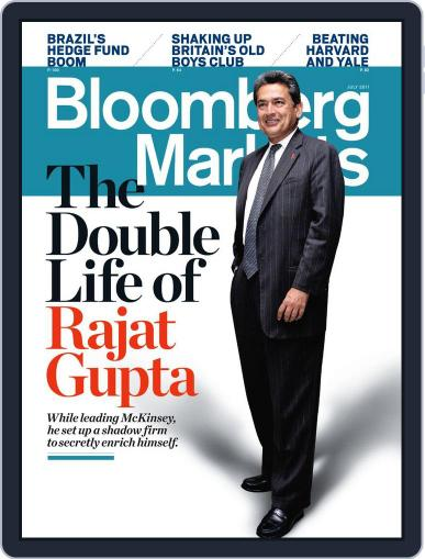 Bloomberg Markets June 2nd, 2011 Digital Back Issue Cover