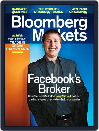 Bloomberg Markets May 5th, 2011 Digital Back Issue Cover