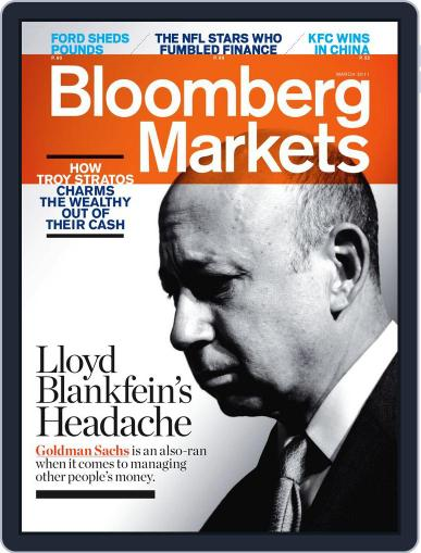Bloomberg Markets February 3rd, 2011 Digital Back Issue Cover