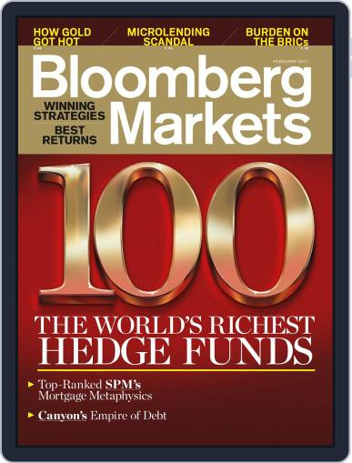 Bloomberg Markets January 6th, 2011 Digital Back Issue Cover