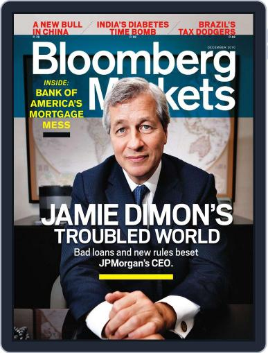 Bloomberg Markets November 3rd, 2010 Digital Back Issue Cover