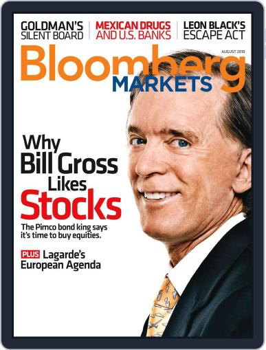 Bloomberg Markets June 30th, 2010 Digital Back Issue Cover
