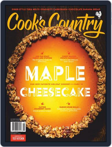 Cook's Country October 1st, 2020 Digital Back Issue Cover