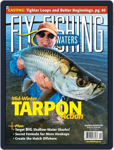 Fly Fishing In Salt Waters October 26th, 2006 Digital Back Issue Cover