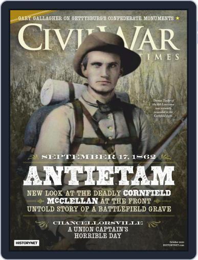 Civil War Times October 1st, 2020 Digital Back Issue Cover
