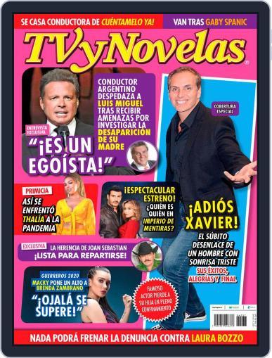 TV y Novelas México (Digital) September 14th, 2020 Issue Cover