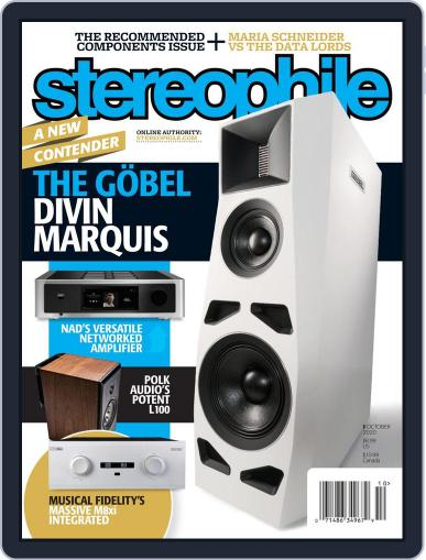 Stereophile (Digital) October 1st, 2020 Issue Cover